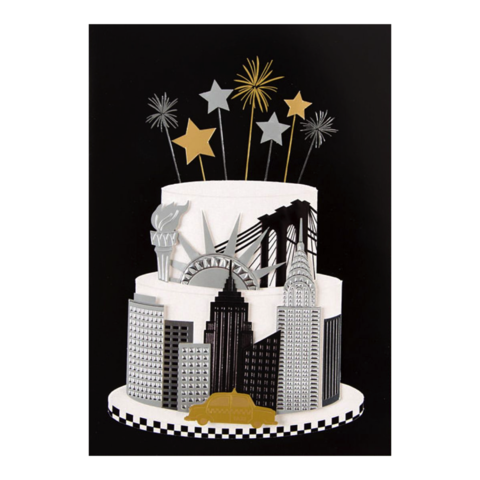 New,York,Cake,by,Taylor,Swift,papyrus, taylor, swift, handmade, greeting, card, new york, cake, nyc, city, birthday, international, hong kong