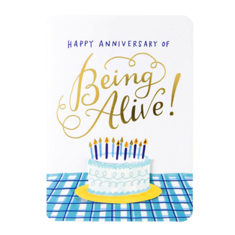 Anniversary,of,Life,papyrus, emily mcdowell, studio, handmade, greeting card, birthday, cake, dessert, international, hong kong