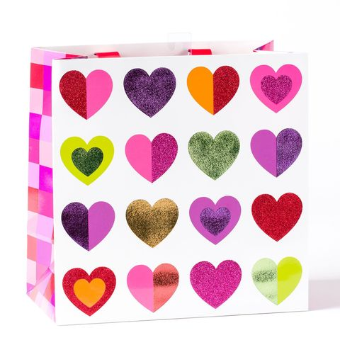 Multicolor,Hearts,Large,Gift,Bag,papyrus, valentine's day, multicolor, hearts, large, gift, bag, hong kong