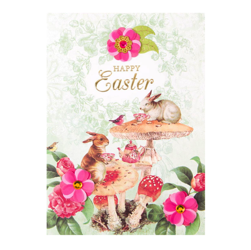 Bunny tea party anas papeterie greeting cards stationery and bunny tea party anas papeterie greeting cards stationery and gifting boutique m4hsunfo Gallery