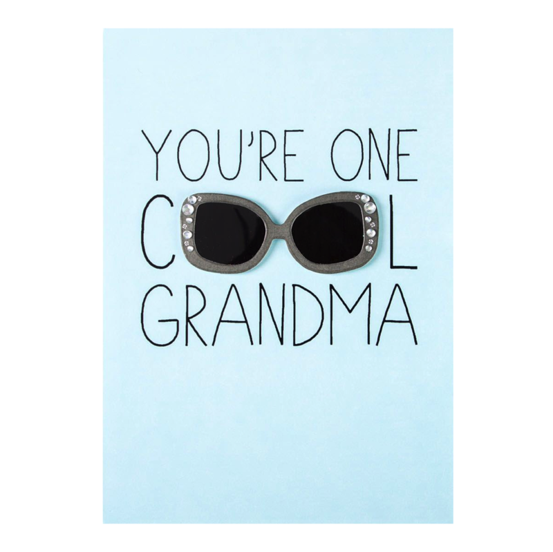 Cool grandma shades mother 39 s day card for grandma ana for What to get grandma for mother s day
