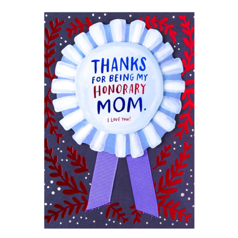 Honorary,Mom,Mother's,Day,Card,papyrus, handmade, greeting, card, mother's, day, mother, mom, mum, honorary, emily, mcdowell, just, like, international, hong kong