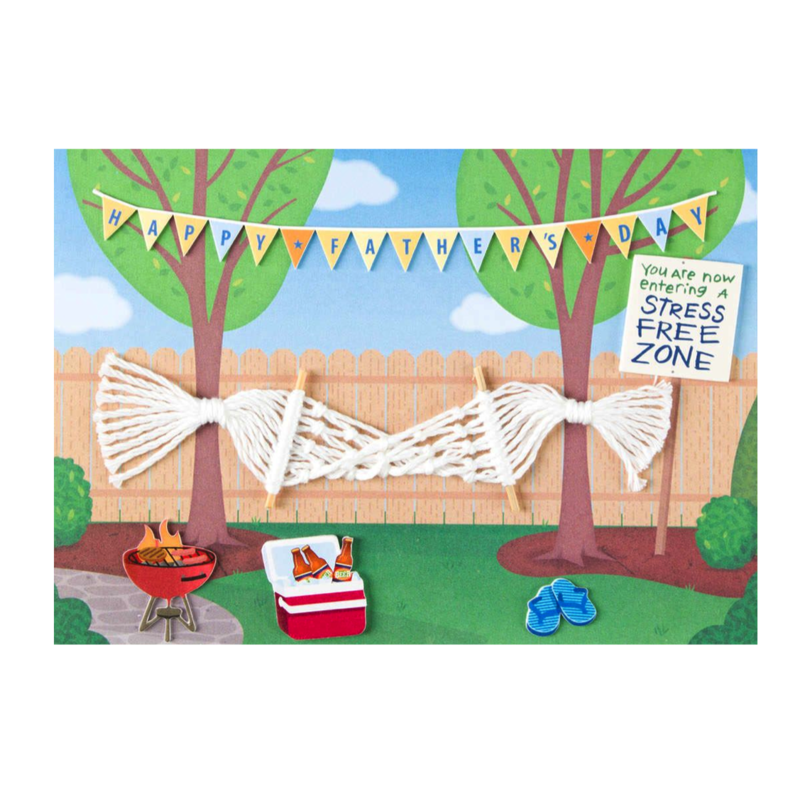 Hammock Father's Day Card - product images