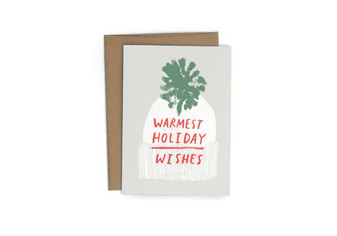 Warmest,Holiday,Wishes,Card,warmest, holiday, wishes, redcruiser, christmas, handmade, greeting, card, cards
