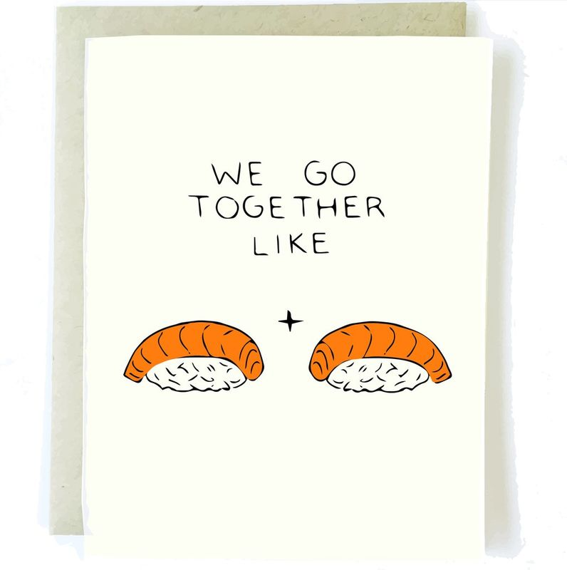 Sushi Love Card - product images
