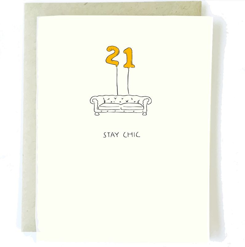 21st birthday card anas papeterie greeting cards stationery 21st birthday card product images bookmarktalkfo Choice Image
