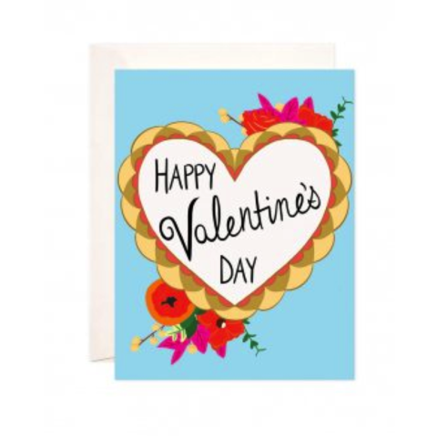 Happy,Valentine's,Day,Card,happy, valentine's, day, valentines, valentine, bloomwolf studio, geometric, modern