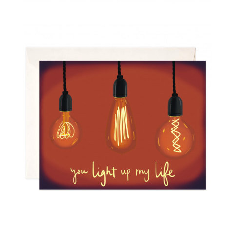 Light,Up,My,Life,Card,bloomwolf studio, light up my life, lights, handmade, greeting, card, romance, romantic, american made