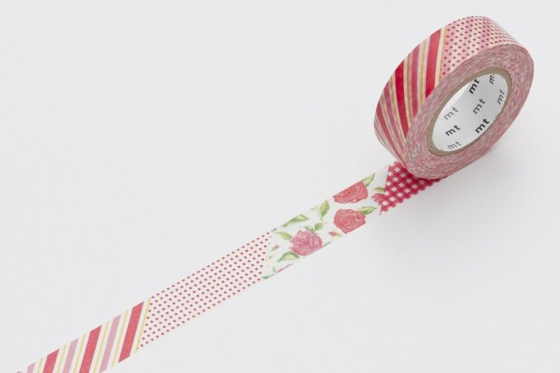 washi tape rose - product image