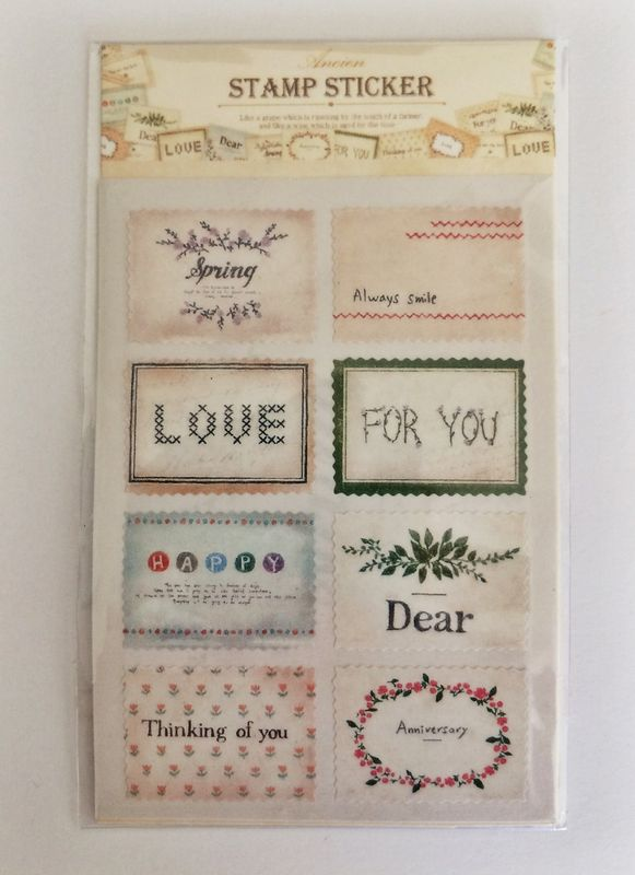 Stamp deco sticker set  - product images  of