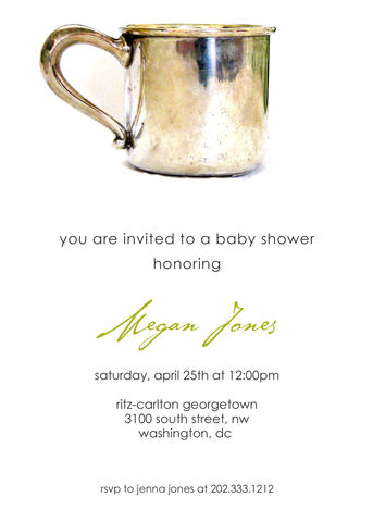 vintage,baby,cup,shower,invitation, baby, shower