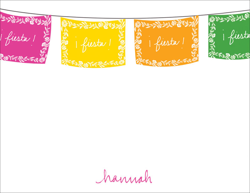 fiesta flags statinery - product images