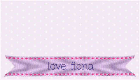 grosgrain,on,pink,polka,dots,gift,tags,ribbon, girl, pink