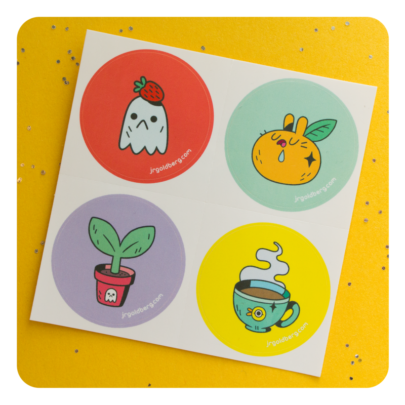 Rainy Day Brunch Collection (all four, plus stickers) - product images  of