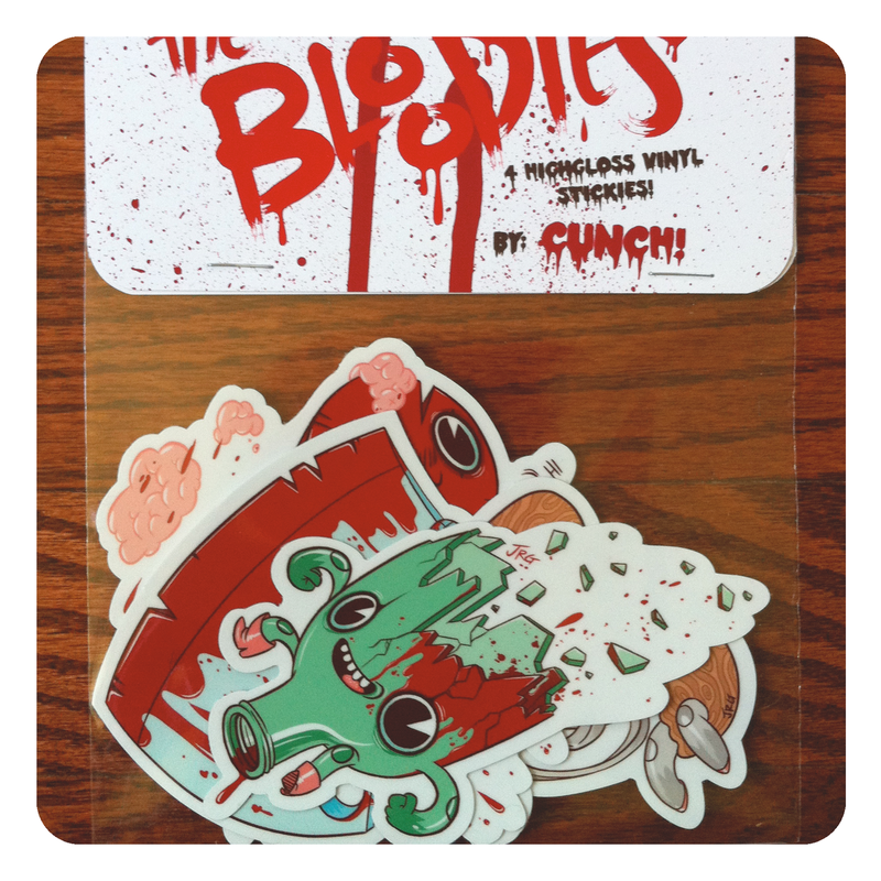 Bloodies Sticker Pack - product images  of