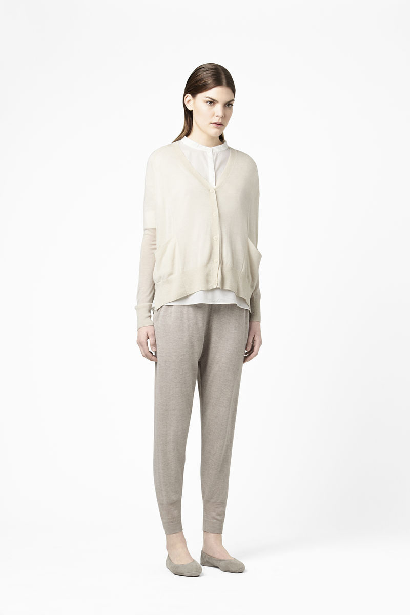 WIDE MERINO CARDIGAN  - product images  of