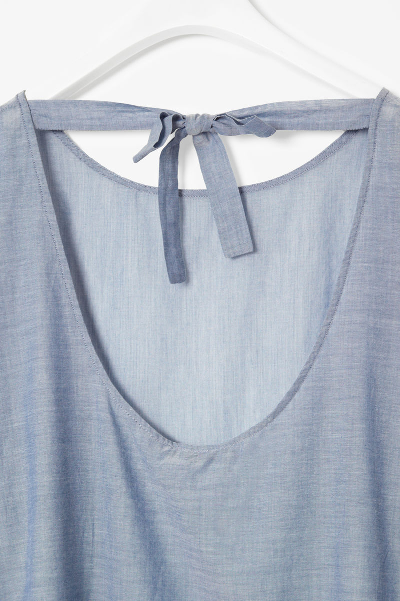 TIE BACK COTTON TOP - product images  of