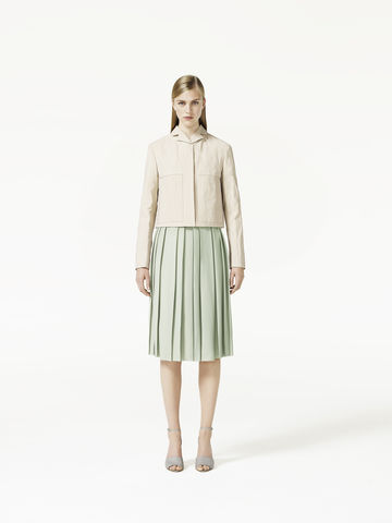 TEXTURED,PLEAT,SKIRT