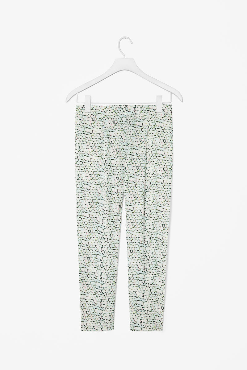 TAPERED PRINT TROUSERS  - product images  of