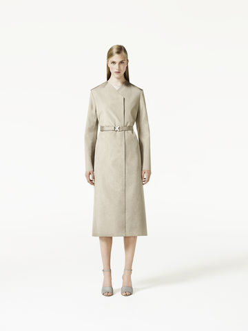 STRAIGHT,BELTED,COAT
