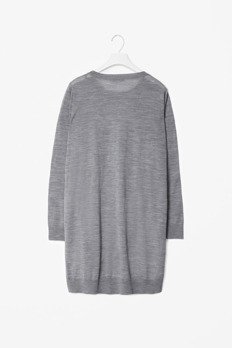 SPLIT SIDE WOOL TUNIC - product images  of