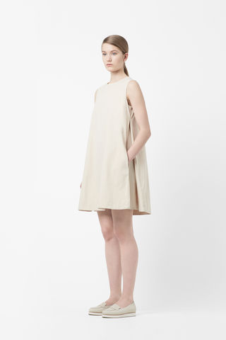 SIDE,PLEAT,DRESS