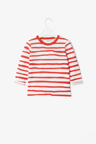 PAINTERLY,STRIPE,TOP