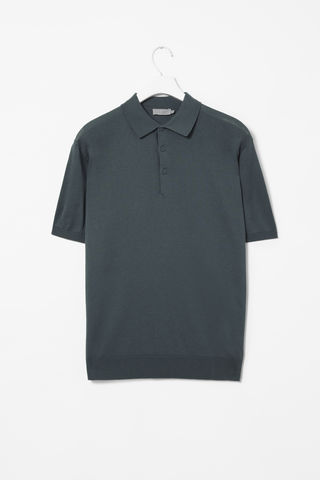 KNITTED,POLO,SHIRT