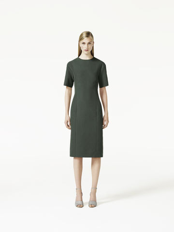 CURVED,SEAM,DRESS