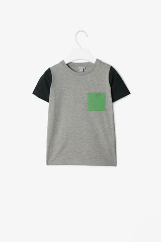 COLOUR-BLOCK,T-SHIRT