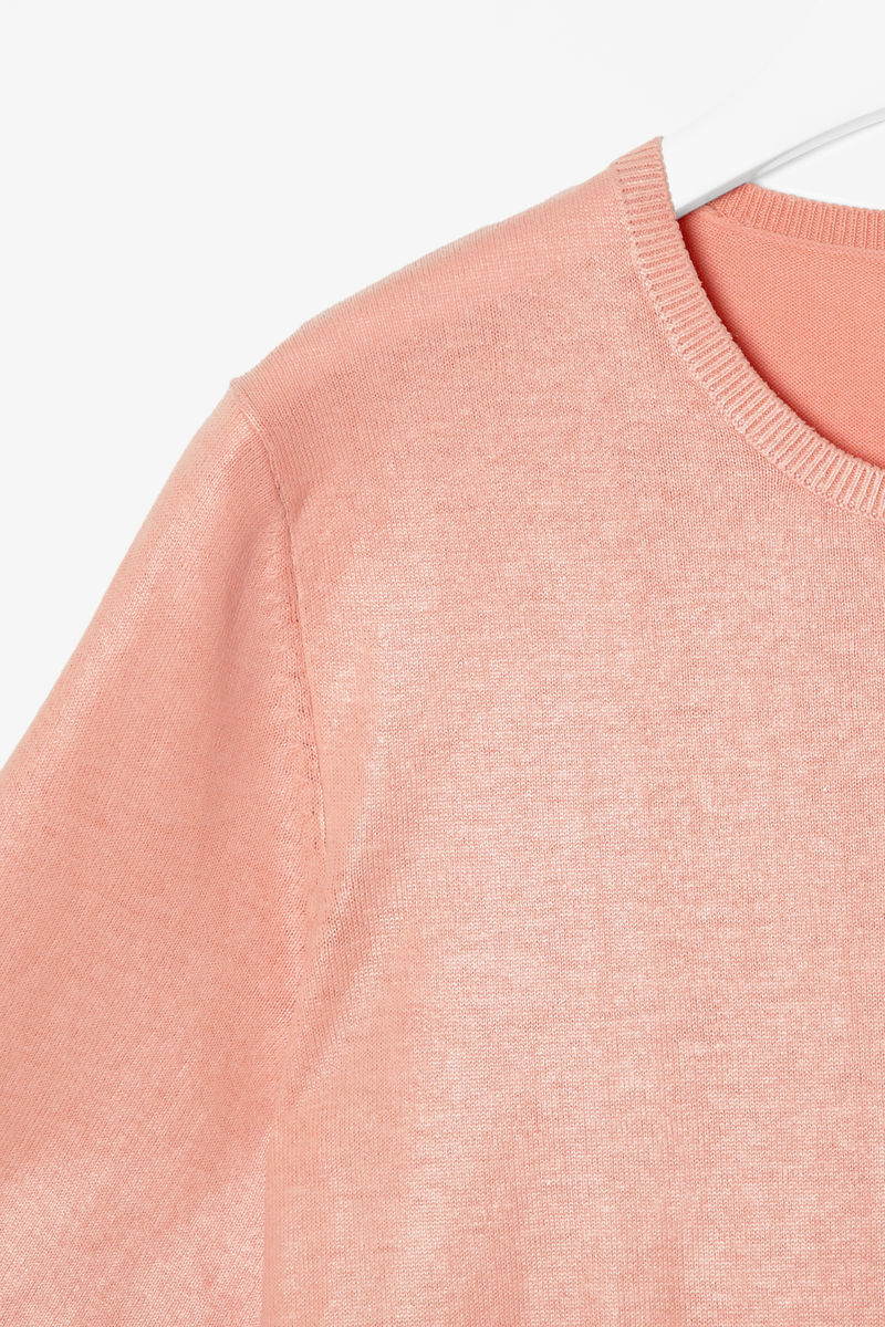 COATED KNIT TOP - product images  of