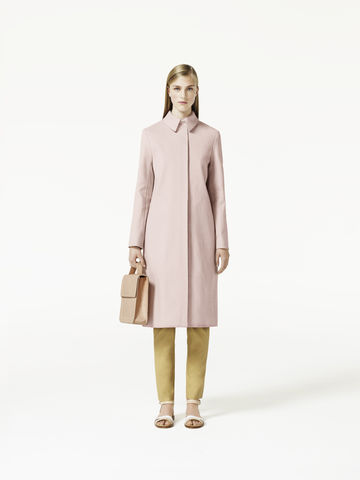 BOX,PLEAT,COAT