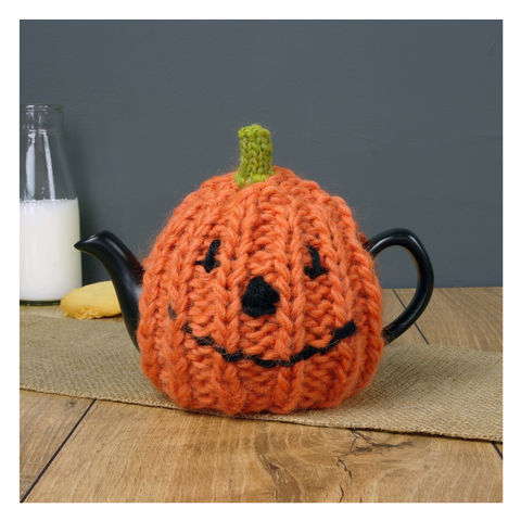 Two,Cup,Pumpkin,Tea,Cosy,Tea Pot. Pumpkin- Home Decor.Halloween