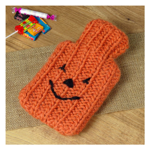 Pumpkin,Mini,Hot,Water,Bottle,And,Cover,Pumpkin Mini Hot Water Bottle And Cover