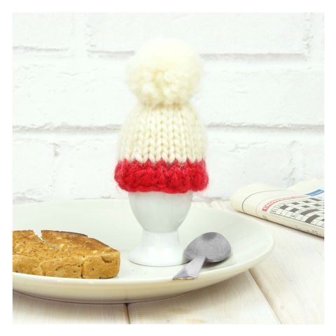 Personalised,Colour,Block,Egg,Cosy,-Red,Personalised Colour Block Egg Cosy - Egg - Egg Cosy - Egg Cup - Egg Cup Cosy - Cosy Egg - Eggs -Dippy Eggs