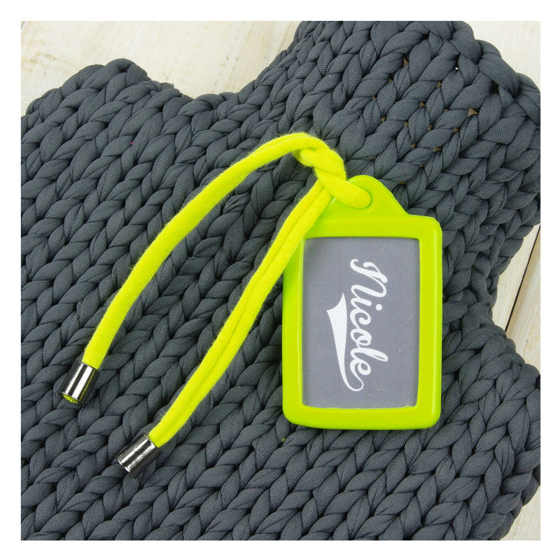 Personalised Sport Hot Water Bottle And Cover - Neon Yellow - product images  of