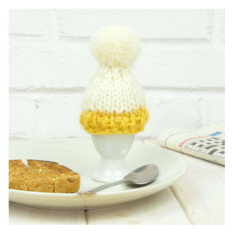 Personalised,Colour,Block,Egg,Cosy,-,Mustard,Personalised Colour Block Egg Cosy - Egg - Egg Cosy - Egg Cup - Egg Cup Cosy - Cosy Egg - Eggs -Dippy Eggs -Mustard Cosy - Yellow Egg Cosy