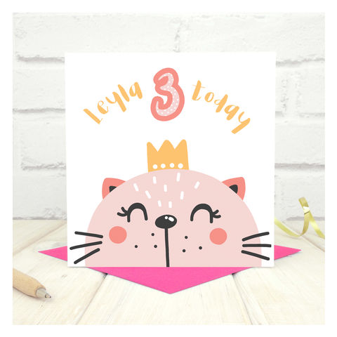 Personalised 'Party Animal' 3rd Birthday Card - product images  of