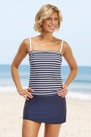 St Martin 3 Piece Bandeau Mastectomy Tankini - product images  of