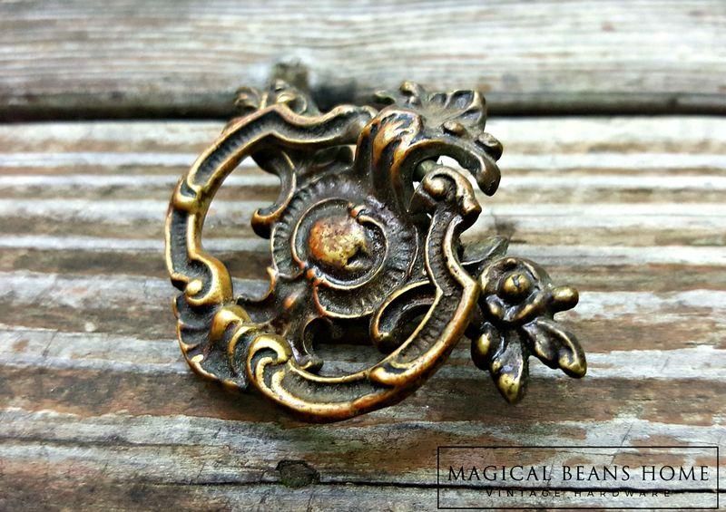 Victorian Dresser Pulls Neoclassical Furniture Teardrop Pulls Keeler Brass Co Decorative Dresser Hardware Antique Brass Drawer Pulls
