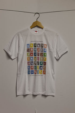 GoldenEra,T-Shirt,(White), Hip-Hop, Design, Stamps, Stamp, Collection, Chuck D, Rappers, Golden Era, Rap, Old School, Classic, Urban