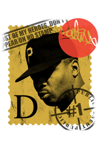 'D',Stamp,Tee,chuck d, heroes, stamp, hiphop, public enemy, fight the power