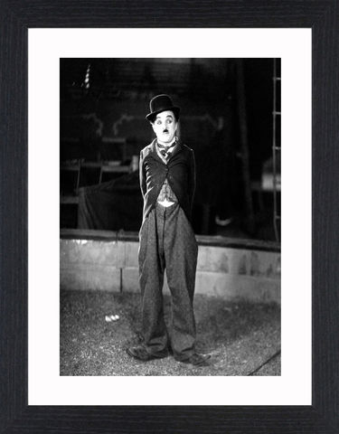 Charlie,Chaplin,-,01,Picture, Photo, Photograph, Print, Framed Photograph, Pop Art, Icon, Black&White, B&W, Black & White, comic actor, film director, composer, silent film era, Silent Film, mime, slapstick, visual comedy routines, American Film Institute, screen legend