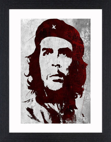 Che,Guevara,-,01,Picture, Photo, Photograph, Print, Framed Photograph, Pop Art, Icon, Black&White, B&W, Black & White, Che Guevara, El Che, Che, Argentine, Marxist, revolutionary, politician, author, physician, military theorist, guerrilla leader, Cuban, revolution, styli