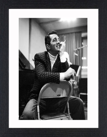 Dean,Martin,-,01,Picture, Photo, Photograph, Print, Framed Photograph,  Icon, Black&White, B&W, Black & White, Dean Martin, American singer, film actor, television, comedian, Rat Pack, Memories Are Made of This, That's Amore, Everybody Loves Somebody, You're Nobody till S
