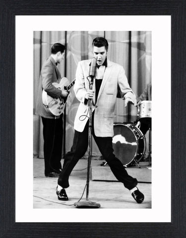 Elvis,Presley,-,04,Picture, Photo, Photograph, Print, Framed Photograph,  Icon,  B&W, Black & White, Elvis,  King of Rock and Roll, the King, Elvis Presley, singer, actor, musicals, films