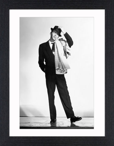Frank,Sinatra,-,02,Picture, Photo, Photograph, Print, Framed Photograph, Icon, B&W, Frank Sinatra, actor, singer, film, rat pack, idol, bobby soxers