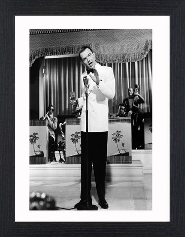 Frank,Sinatra,-,03,Picture, Photo, Photograph, Print, Framed Photograph, Icon, B&W, Frank Sinatra, actor, singer, film, rat pack, idol, bobby soxers