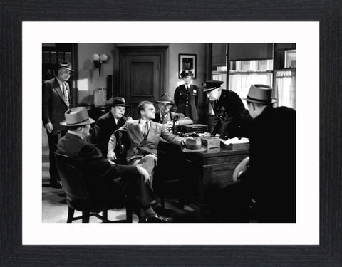 James,Cagney,-,02,Picture, Photo, Photograph, Print, Framed Photograph, Icon, B&W, James Cagney, actor, gangster, American Film Institute, James Francis Cagney, Jr, The Public Enemy, Angels with Dirty Faces, Academy Award, Screen Actors Guild