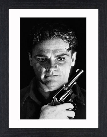 James,Cagney,-,03,Picture, Photo, Photograph, Print, Framed Photograph, Icon, B&W, James Cagney, actor, gangster, American Film Institute, James Francis Cagney, Jr, The Public Enemy, Angels with Dirty Faces, Academy Award, Screen Actors Guild